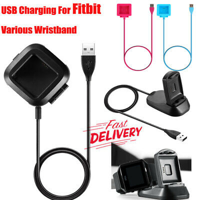 USB CHARGING CHARGER Cable for Fitbit GPS Heart Rate Tracker