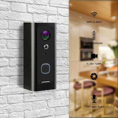 WiFi Wireless Video Doorbell 1080P Talk Smart Door Bell Security Camera HD New K