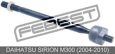 Per Daihatsu Sirion 1998-2005 NUOVO 2x OUTER /& 2x INNER TRACK TIE RACK Rod End