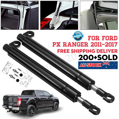 2X Rear Tailgate Slow Down Shock Strut Kit Ford Ranger Px Px2 Xl Xlt Wildtrak Au