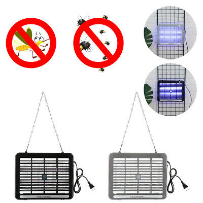 Electric UV Insect Killer Mosquito Fly Pest Bug Zapper Catcher Trap LED Lamp