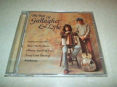 Gallagher & Lyle : The Best Of  Cd Album 1995