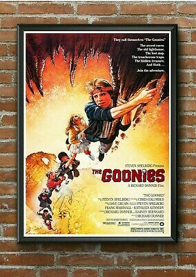 "Classic ""The Goonies"" 1980's Movie Film Poster Print Picture A3 A4 A5"