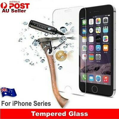 Tempered Glass Scratch Resist Screen Protectors For Apple iPhone 11 X 8 7 6 Plus