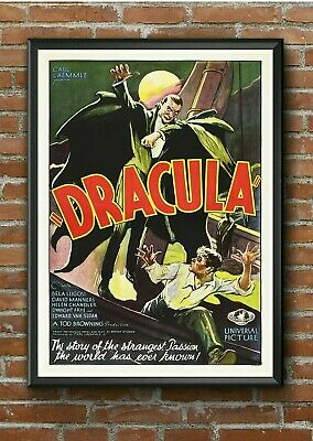 "Vintage ""Classic Dracula"" Horror Movie Film Poster Print Picture A3 A4 A5"