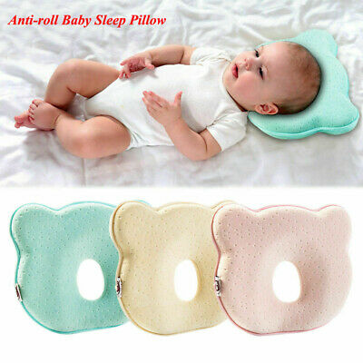 Portable Soft Baby Pillow Sleep Cushion Newborn Breathable Head Protection Pad