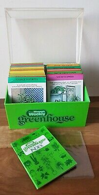Vintage Australian Womens Weekly Greenhouse Gardening Card Set Retro Collectable