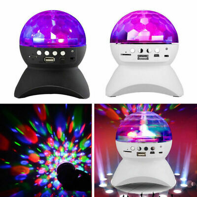 Rechargeable Wireless Bluetooth Disco Ball Music Speaker LED Colorful Light Show