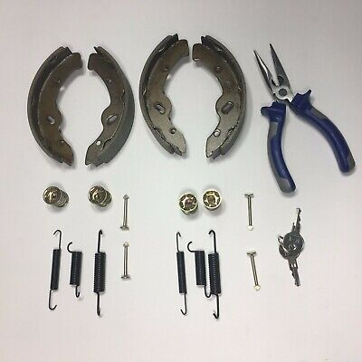 1997-Up EZGO TXT GOLF CART BRAKE SHOES | SPRINGS - ELECTRIC | GAS, TXT/MEDALIST