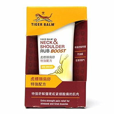 Thai Tiger Balm Neck Shoulder Rub Boost Extra Strength Warm Pain Relief 2 X 50 G