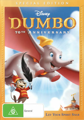 Dumbo  - 70th Anniversary Special Edition - DVD - Region 4 [New & Sealed]