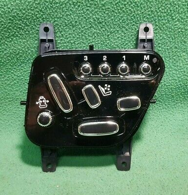 for JAGUAR XK 2006-2014 16 WAY SEAT SWITCHPACK NEW GENUINE C2P21469