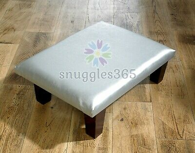 Footstool, Foot Rest, Pouffe Stool, Children Stool in Faux Leather - All Colours