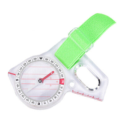 Thumb Compass Elite Competition Orienteering Compass 'Portable Compass Map Scale