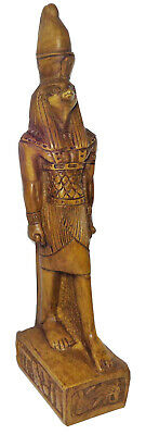 "Egyptian King Horus Eye Pharaoh Figurine Statue Ancient Goddess 9"" Sculpture 201"