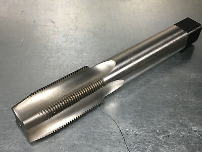 """Regal 1 1/2 - 12 GH4 Tap, 9-1/4"""" OAL Extra Length, HSS, 4 Flute Straight, Taper"""
