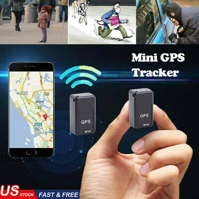 US Magnetic Mini GPS Tracker Car Spy GSM GPRS Real Time Tracking Locator Device