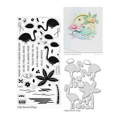 My Favorite Things Flamazing Clear Stamp Set & Cutting Die Set