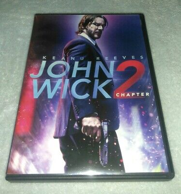 John Wick: Chapter 2 DVD Keanu Reeves, Common, Laurence Fishburne