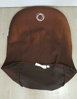 Bugaboo Cameleon 1 2 Seat Liner Canvas Brown Tailored Fabric