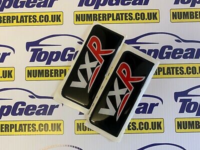 2x 3D Gel UK Number Licence Plate Side Badges BMW Badge Stickers