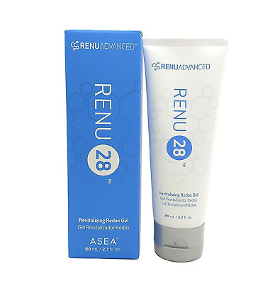 $29+ Per Tube - ASEA Renu 28 Revitalizing Redox Gel - 80mL - 2.7 FL.OZ
