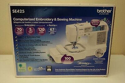 Brother SE425 Computerized Sewing Machine - Brand New Sealed! (AB)