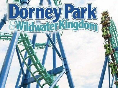 DORNEY PARK & WILDWATER KINGDOM TICKETS Promo Savings Tool Discount ONLY $28!!