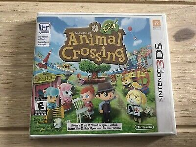 Animal Crossing: New Leaf Nintendo 3DS New Sealed Game