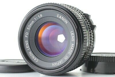 【Excellent+++++】 Canon New FD 50mm f/1.8 NFD SLR  MF Lens From Japan  #26
