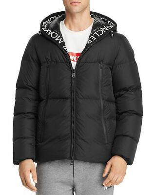1518b7a3f NEW AUTHENTIC MONCLER Ryan Mixed-Media Down Jacket Black - $1,330.25 ...