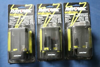 3 Rayovac 6VADP Industrial Lantern Battery Adaptors 4D Cell Replaces 6V