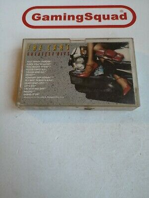 The Cars, Greatest Hits Cassette Tape, Supplied by Gaming Squad