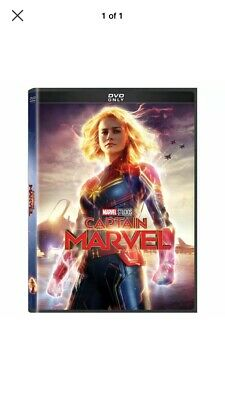 Captain Marvel: DVD 2019 (Fast Free Shipping)
