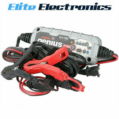 Noco Genius G1100 6V 12V 1.1Amp UltraSafe Battery Charger & Maintainer