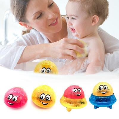 Children's Electric Induction Sprinkler Toy Light Baby Play Bath Toy Water Toys