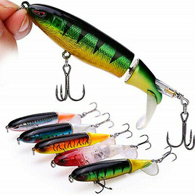 Swimbait Lures Floating Fishing Bait Minnow Fish Lure Crankbait Tackle Hooks