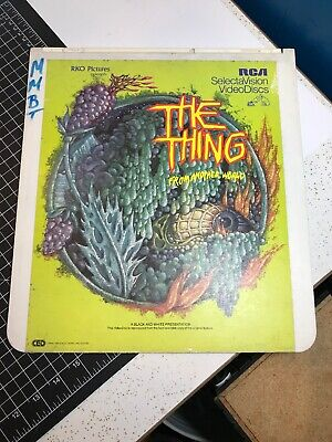 Vintage 1981 RCA SelectaVision VideoDiscs 1951 THE THING From Another World