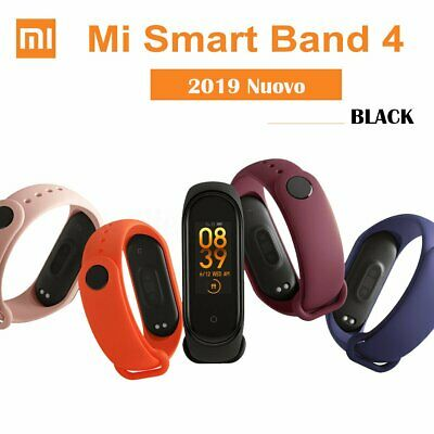 2019 XIAOMI MI BAND 4 bluetooth5.0 SMART OROLOGIO SPORT WATCH AMOLED SCHERMO#@