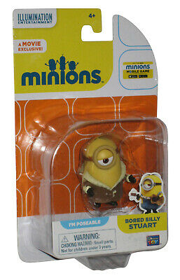 Despicable Me Minions Movie Bored Silly Stuart Thinkway Toys Action Figure