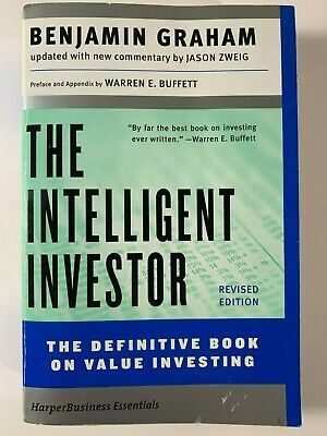 The Intelligent Investor. The Definitive Book on Value Investing.