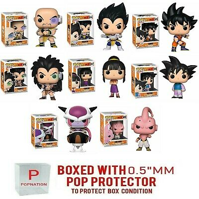 Funko Pop Dragon Ball Z : New Wave Nappa, Goku, Raditz, Goten, Kid Buu, Frieza