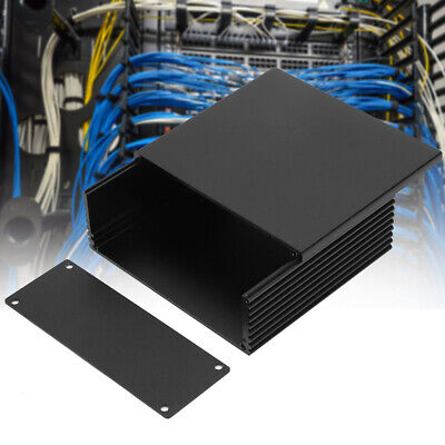 Circuit Board Aluminum Cooling Box Electronic Project Enclosure Case40*110*100mm
