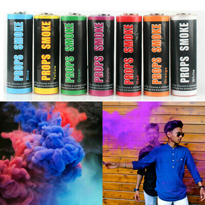 New Smoke Colorful Round Tool Effect Show Background Photography 7 Colours