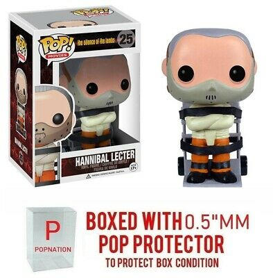 """Funko Pop Movies: The Silence of the lambs : Hanniball Lecter #25 Vinyl """"MINT"""""""