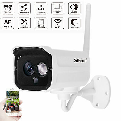 Telecamera Full Color Esterna Motorizzzta Wifi PTZ Zoom 1080P HD IP IR Camera
