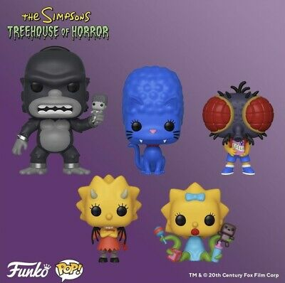 Funko Pop! The Simpsons: Treehouse of Horror Pop! Set [PRE-ORDER]