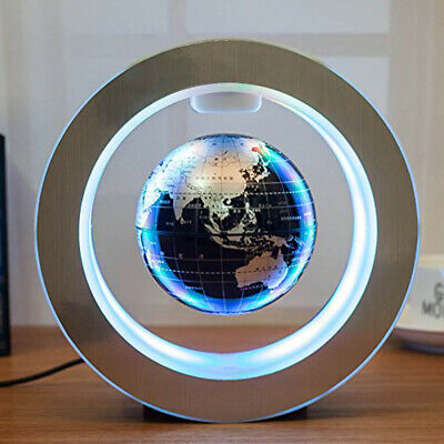 Magnetic Levitation Globe Round LED Floating Earth Maglev Light Suspension Globe