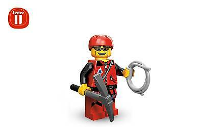 Climbing Rope Coiled Light Gray Curled Mountain Climber Hiker Minifig LEGO