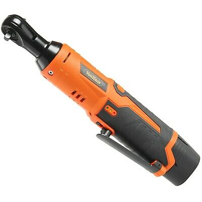 "VonHaus 12V Ratchet Wrench 1/4"" Drive + Battery + Charger With 280rpm Variable S"